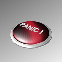 Panic Button Pressed Icon