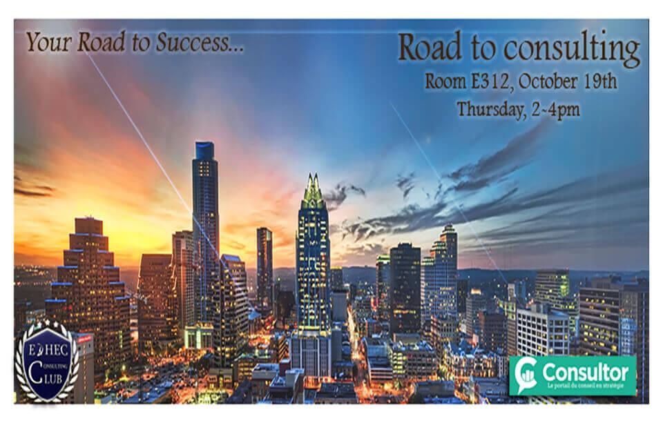 EDHEC Consulting Club Event Poster