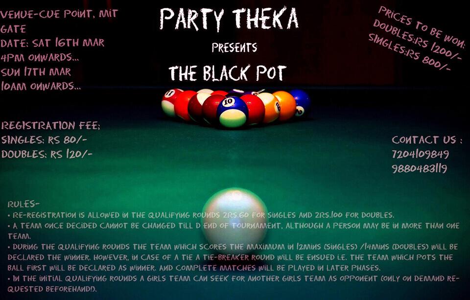 The Black Pot Poster
