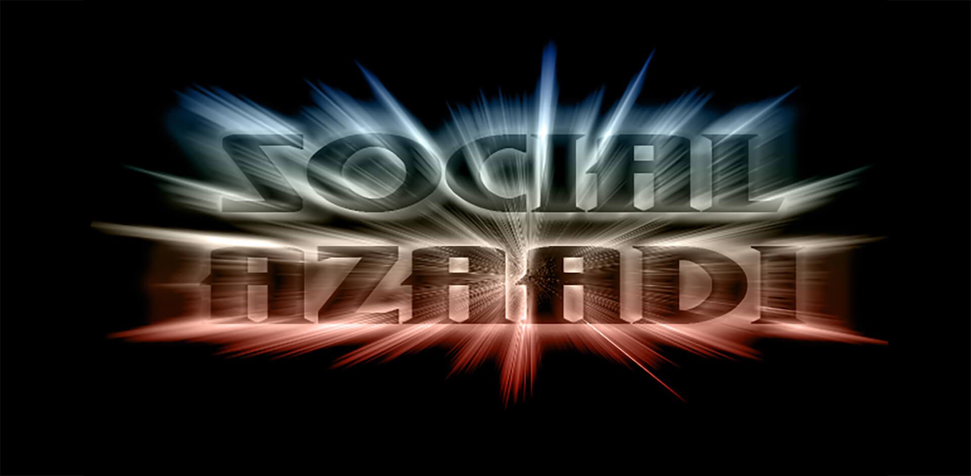 Social Azaadi Banner